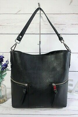 £23.22 • Buy CALVIN KLEIN Authentic Large Shoulder Tote Work Bag Black ~ Excellent Condition