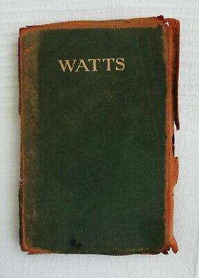 Very Rare G F Watts By G K Chesterton 1909 The Popular Library Of Art Illust • 9.99£