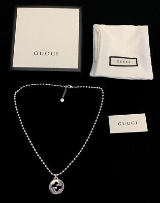 £235 • Buy Gucci Necklace Sterling Silver