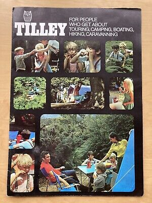 £3 • Buy 1669 Tilley Lamp Company Camping Cooking Lighting Equipment Dunmurry Belfast.