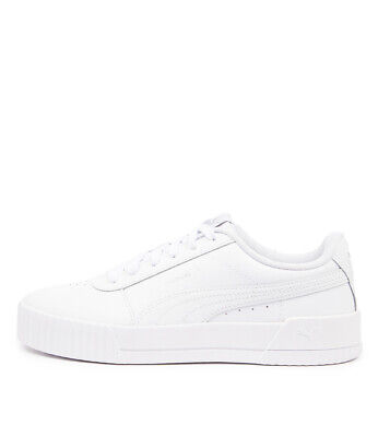 AU100 • Buy New Puma Carina L White White Womens Shoes Casual Sneakers Casual