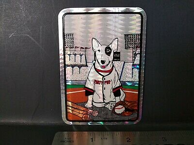 AU6.15 • Buy Vintage Stickers 80s SPUDS MACKENZIE Prism Vending Machine Sticker VTG Rare