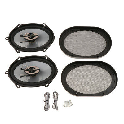 AU56.89 • Buy 5x7 Inch Car Audio Speakers 2-Way 380 Watts Coaxial Car Stereo System