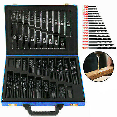 £22.99 • Buy 170X Cobalt Drill Bit Complete Set For Stainless Steel Metal HSS Bits 1-10mm Dia