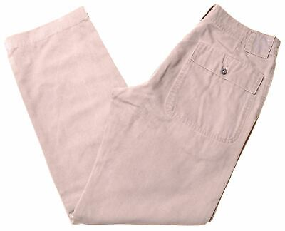 £19.95 • Buy MURPHY & NYE Mens Casual Trousers W30 L30 Beige Cotton Straight FT15