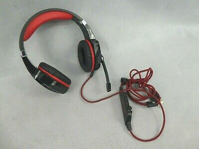 £0.99 • Buy Kotion Each Gaming Headset G9000 USB 3.5mm Jack Red/Black Used Condition Tested