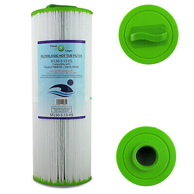 £25.49 • Buy FilterLogic SFL50-5-13-HS Hot Tub Spa Filter Compatible With Pleatco PWW50L