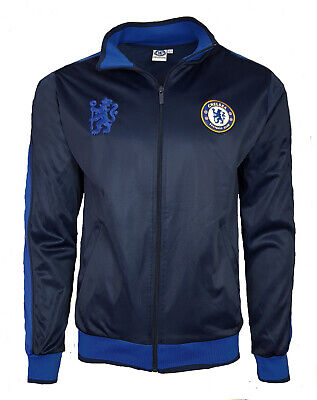 £24.99 • Buy Official Chelsea FC Football Tracksuit Top Mens Large Retro Track Jacket CHJ1