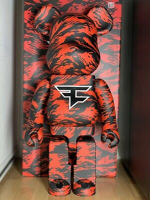 $650 • Buy Faze Clan Bearbrick 1000% In Hand Sold Out
