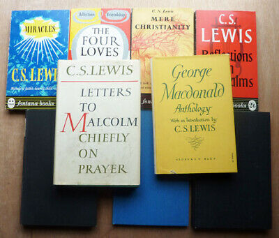 £20 • Buy C,S, LEWIS, LETTERS TO MALCOLM, 1964 1st PLUS 8 OTHERS
