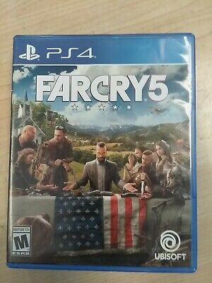 AU20.40 • Buy Far Cry 5 Standard Edition For PlayStation 4 PS4 Shooter PS5 Very Good