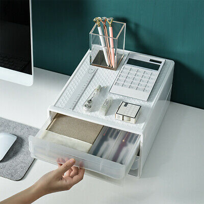 £27.88 • Buy A4 Drawer Type Office Desktop Storage Box Nordic Style School Paper Documents,.