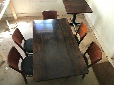 AU13.50 • Buy Used Furniture Dining Tables And Chairs - Table Can Be Used As A Desk.