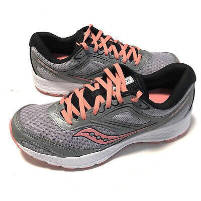 $ CDN54.14 • Buy Saucony Womens Versafoam Cohesion 12 Silver Pink Running Shoes S10471-3 Size 10