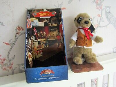£12.99 • Buy Yakov Meerkat Toy BNIB - With  Immigration  Papers & Certificate