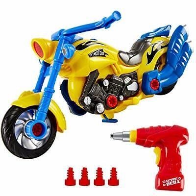 £22.99 • Buy Build Your Own Car Kit For Kids With Electric Drill Lights And Sounds