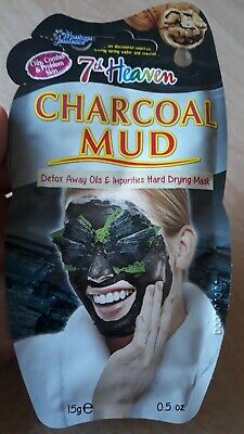 £1.49 • Buy 7th Heaven Charcoal Mud Hard Drying Mask For Oil/Combo/Problem Skin 15g BN BOGOF