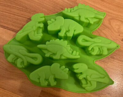 £5.99 • Buy Silicone Dinosaurs Cake Pop Mould.Green.BNWOT.