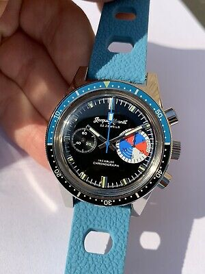 $ CDN1068.67 • Buy Jacques Monnat Vintage Homage Chronograph Watch Mens