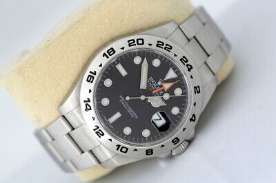 $ CDN13214.54 • Buy Rolex Explorer II 216570 GMT Automatic Watch Black Dial (2011)