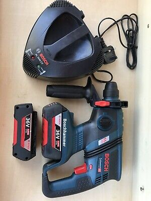 £245 • Buy Bosch Professional GBH 36V-EC Compact 2X2.0Ah Batteries Plus Charger