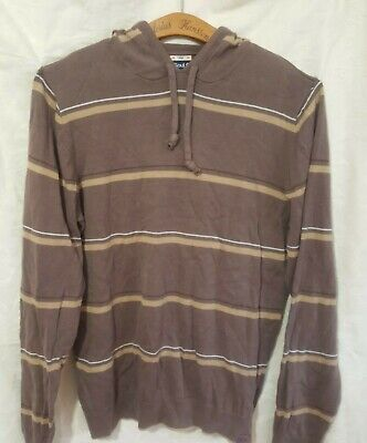 £6.99 • Buy Soul Cal  Hoodie Size L Soft Brown Cotton Used Good Con Surfer