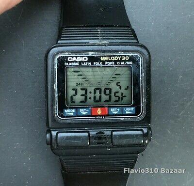 £216.32 • Buy Very Rare 1980 CASIO M-30 (472) Melody Alarm Japan WK 30mm Watch - The Beatles