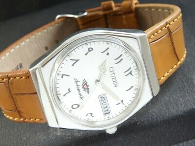 $ CDN25.38 • Buy VINTAGE CITIZEN AUTOMATIC 8200A JAPAN MEN'S DAY/DATE WATCH 438b-a219737-1