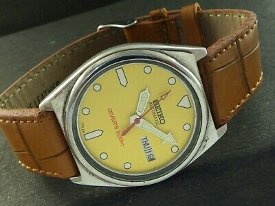 $ CDN25.38 • Buy OLD VINTAGE SEIKO 5 AUTOMATIC JAPAN MEN'S DAY/DATE WATCH 443a-a221457-1