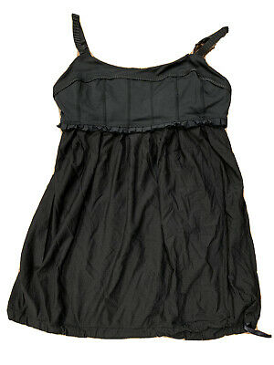 $ CDN18.13 • Buy Lululemon Black Ruffles Tank Top Camisole - Yoga - Size 4