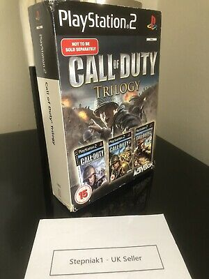 £14.99 • Buy Call Of Duty Trilogy Ps2  Playstation 2 3 Games Bundle