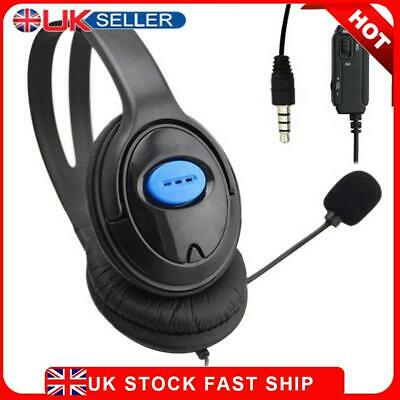 £7.29 • Buy Wired Gaming Headsets Headphones With Mic For PS4 Sony PlayStation 4 /PC