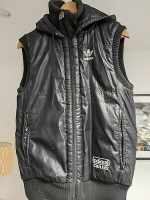£20 • Buy Adidas Chile 62 Gilet / Vest Size XS. Rare. Shiny Glanz Cal Surf Style. See Pics