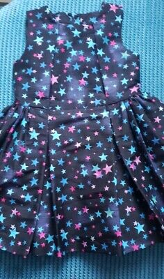 AU13.18 • Buy 4-5 Years Girl Party Dress From George Star Print