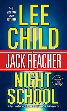 Night School: A Jack Reacher Novel By Child, Lee | Book | Condition Acceptable • 5.23£