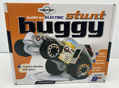 £5.95 • Buy Techno Kit Kids Fun Build Your Own Stunt Buggy Car Model - It Pulls Wheelies!