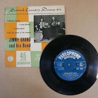 £5 • Buy 45rpm 7  Single JIMMY SHAND Scottish Country Dances 2