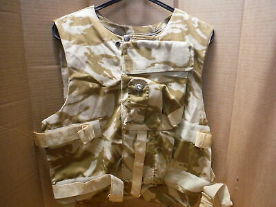£35 • Buy Army Flack Vest Body Armour Covers JOB LOT OF 10 Desert  DPM Mixed Sizes