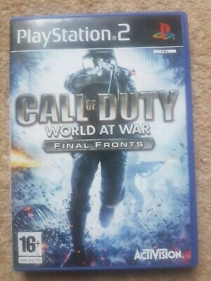 £0.99 • Buy CALL OF DUTY WORLD AT WAR FINAL FRONTS - PS2 PlayStation2 Complete