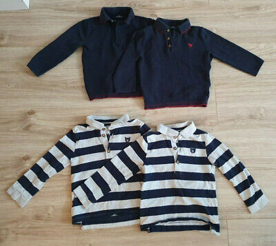 £18 • Buy Matching Twin Boy Clothes 18-24m 1.5-2 Years Tops Sleepsuits Jumpers Bundle