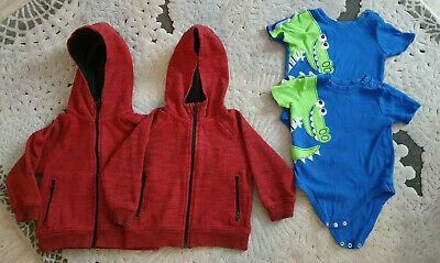 £12 • Buy Matching Twin Boy Clothes Bundle Trousers Hoodies Vests 12-18m (1-1.5 Years)