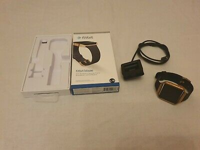 $ CDN42.58 • Buy Fitbit Blaze Activity Tracker Boxed Complete With Charger Medium And Large Strap