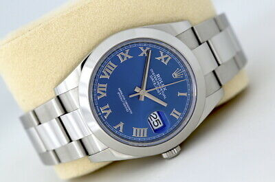 $ CDN11748.60 • Buy Rolex Datejust 41 126300 Automatic Watch Blue Dial (2020)