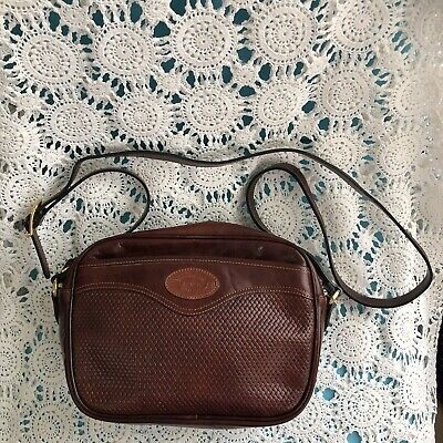 AU55 • Buy Vintage Oroton Leather Shoulder Cross Body Bag Made In Australia.  As New