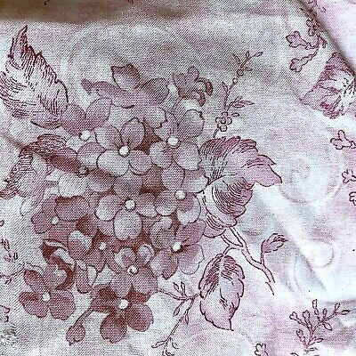 £18.07 • Buy Gossamer Petals Floral Sewing Fabric 4 Yds + 21  Pink Flowers Soft Cotton New