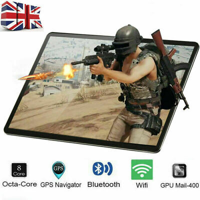 £55.99 • Buy 10.1 Inch Android 10.0 8+128GB Tablet PC 8 Core WiFi Bluetooth GPS Dual Camera