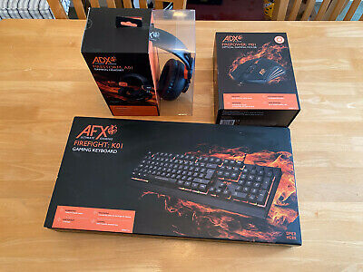 £6 • Buy AFX Gaming Keyboard, Mouse And Headset