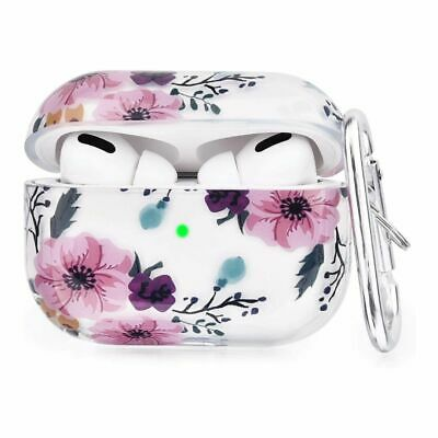 $ CDN15.93 • Buy Apple Airpods Pro Soft TPU Case Cover Shockproof Protective- Anemone Pink Flower