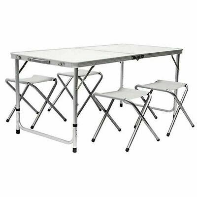 £38.99 • Buy 4ft Catering Camping Heavy Duty Folding Portable Picnic BBQ Party Table