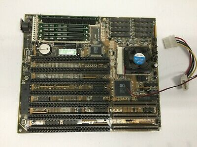 AU128.71 • Buy Vintage 4SGS-3VL 3.2 Motherboard With CPU Intel 486 DX2-66 And RAM